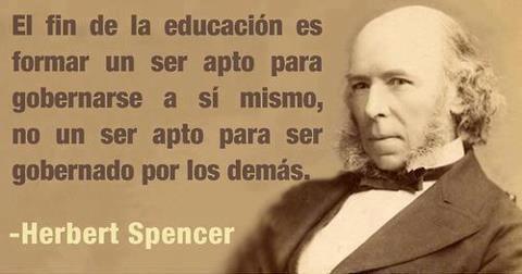 Que es CALIDAD en la EDUCACION y como FINANCIARLA? Herbert-spencer